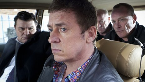 Derek Branning (Jamie Foreman) and Alfie Moon (Shane Richie) 