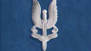 SAS badge logo