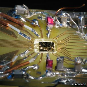 Quantum computer reported in Science