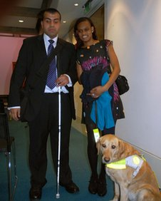 Mohammed Mohfanali and Ramona Williams