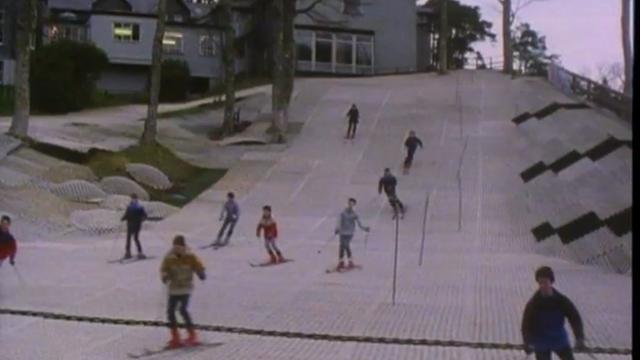 Capel Curig ski slope