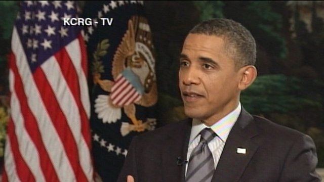 US President Barack Obama in an interview with local news channel KCRG 12 April 2012