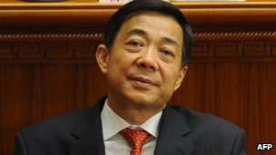 Bo Xilai at the closing ceremony of the National People&#039;s Congress annual sessions in Beijing, 14 March 2012
