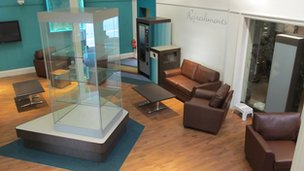 The new lounge at Northampton Museum.