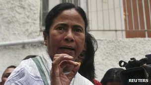 West Bengal Chief Minister Mamata Banerjee - 19 March 2012