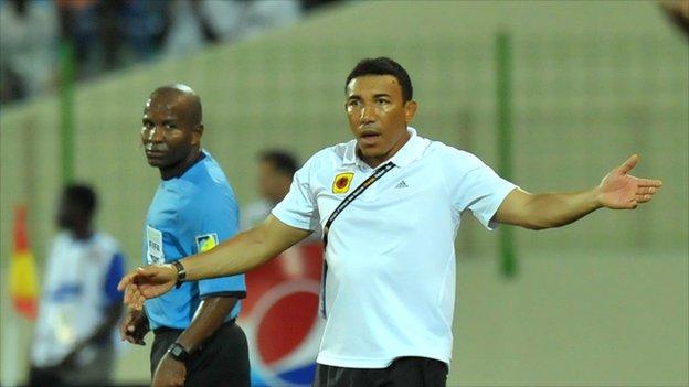 Former Angola coach Lito Vidigal