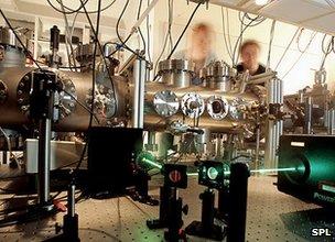 Quantum entanglement experiment