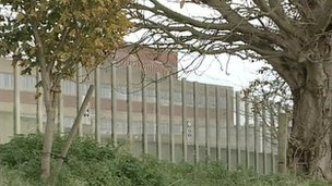 Warren Hill young offenders prison, Suffolk