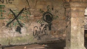 Graffiti in York