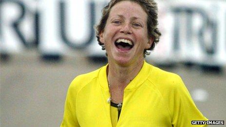 Jane Tomlinson running