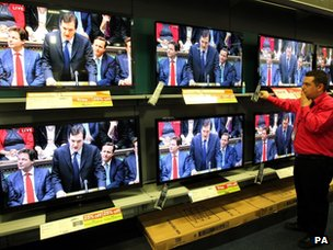 Discounted new TVs on sale