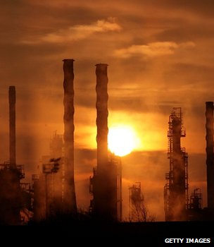 Oil refinery (Getty Images)