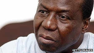 Guinea-Bissau's Joao Bernardo Vieira