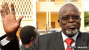 Guinea-Bissau&#039;s President Malam Bacai Sanha 