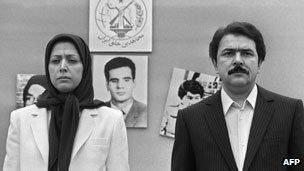 Maryam and Massoud Rajavi