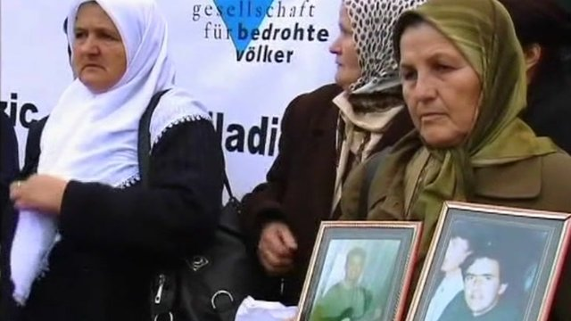 Mothers of Srebrenica victims