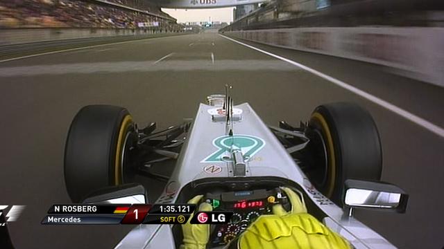 Nico Rosberg's pole lap