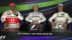 Top three for the China Grand Prix