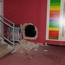 Museum hole