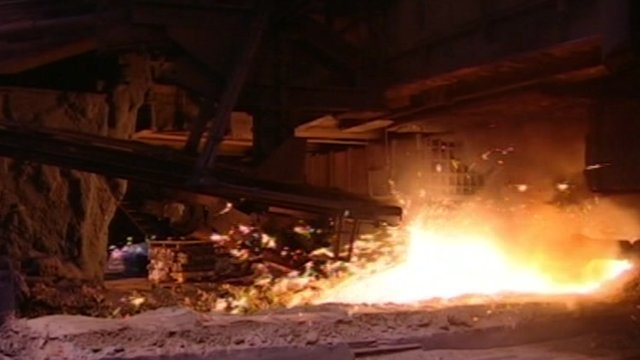 Furnace at former Corus plant