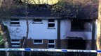 Two women were killed in the blaze