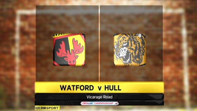 Watford 1-1 Hull
