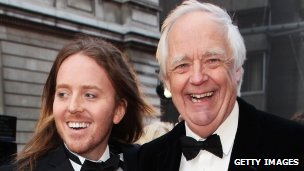 Tim Minchin and Sir Tim Rice