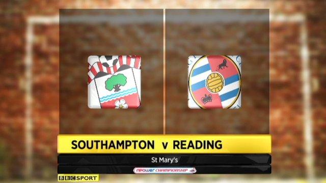 Southampton 1-3 Reading