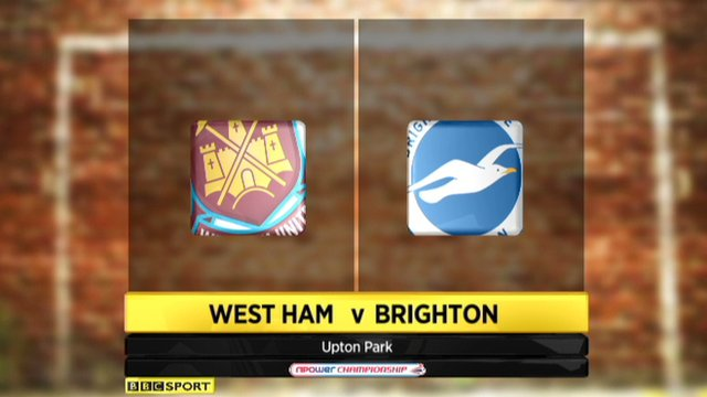 West Ham 6-0 Brighton