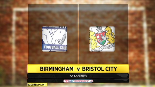 Birmingham 2-2 Bristol City