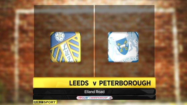 Leeds 4-1 Peterborough