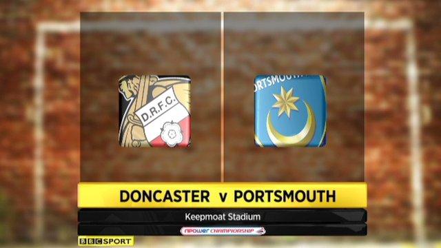 Doncaster 3-4 Portsmouth