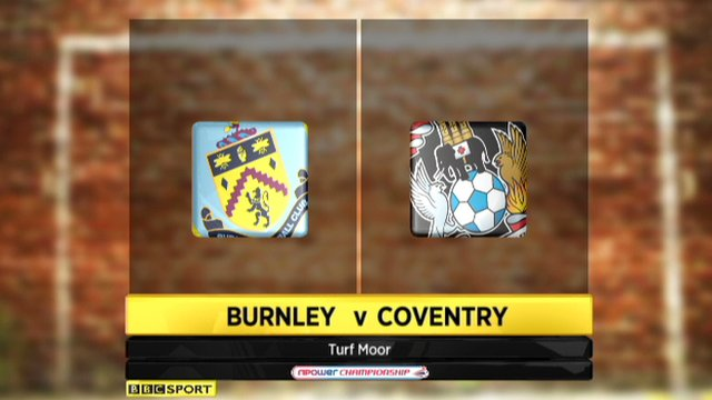 Burnley 1-1 Coventry