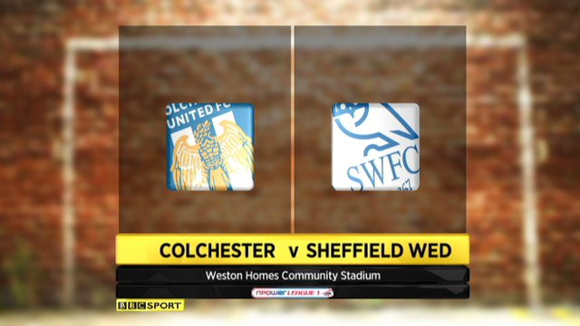Colchester 1-1 Sheffield Wednesday