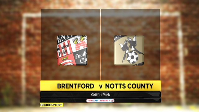 Brentford 0-0 Notts County