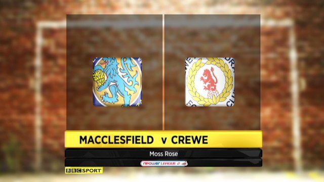 Macclesfield 2-2 Crewe