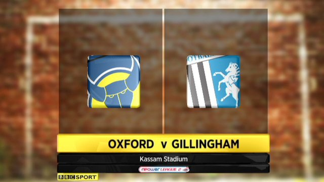 Oxford 0-0 Gillingham