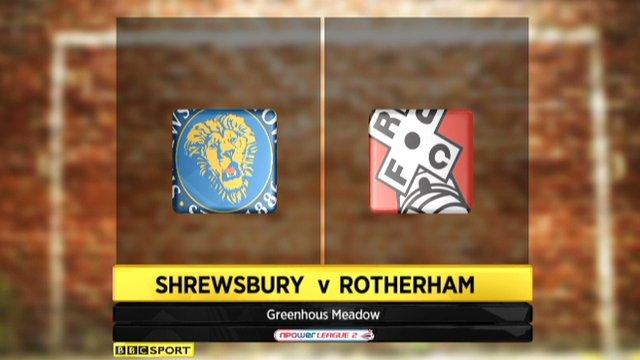 Shrewsbury 3-1 Rotherham