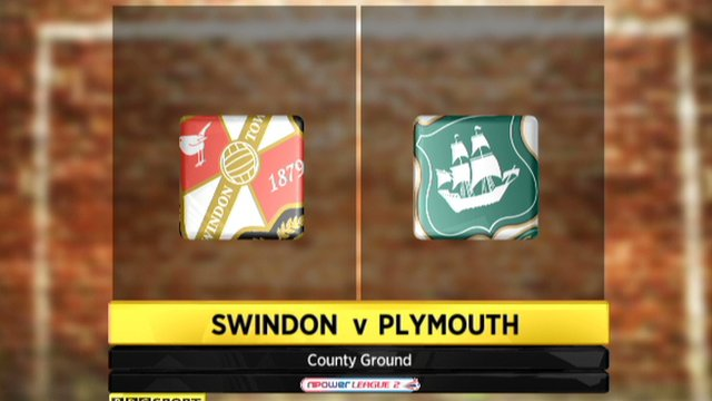 Swindon 1-0 Plymouth