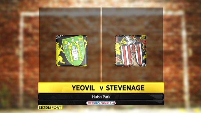 Yeovil 0-6 Stevenage