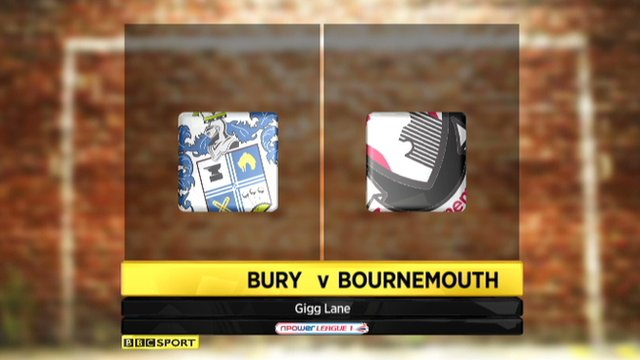 Bury 1-0 Bournemouth