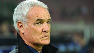 Former Chelsea boss Claudio Ranieri