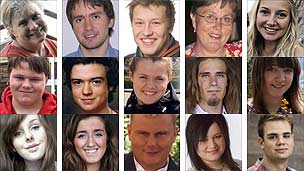 Victims of the 22 July attacks in Norway