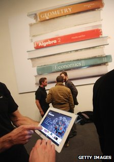 An ebook demo event for iPads