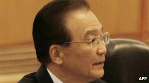 Chinese Premier Wen Jiabao. Photo: April 2012