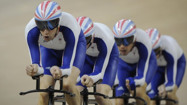 Track cycling team of Great Britain 