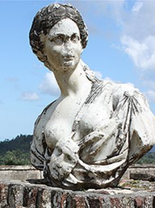 Bust at the Sans-Souci palace