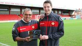 Dario Gradi and Nick Powell