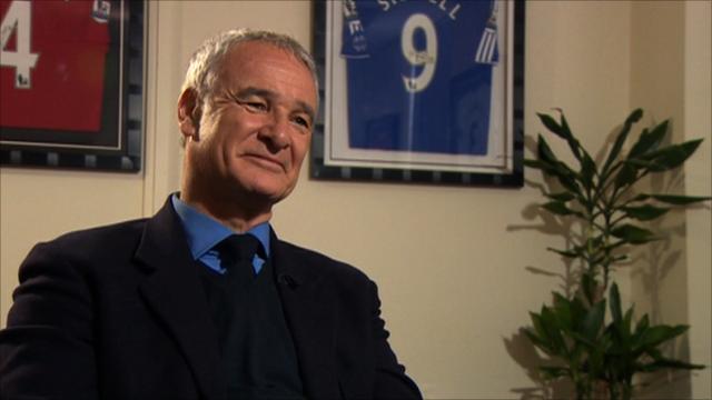 Former Chelsea manager Claudio Ranieri