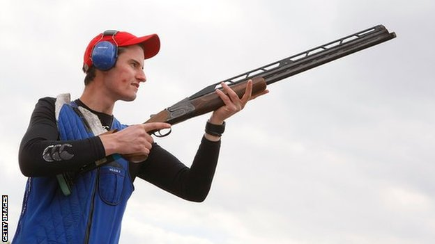 Peter Wilson excited by chance to sample Olympic Shooting venue